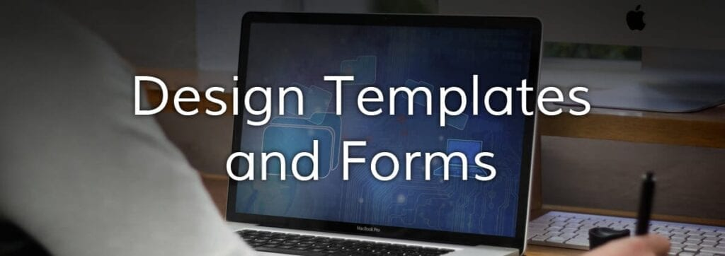 design templates and forms upload cover