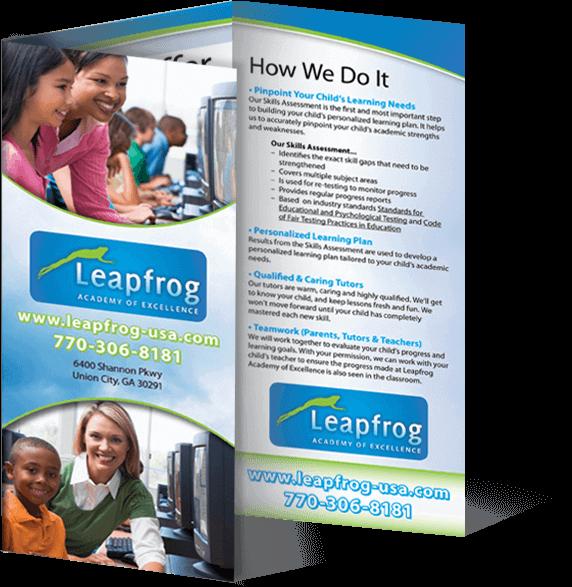 leapfrog learning brochure image