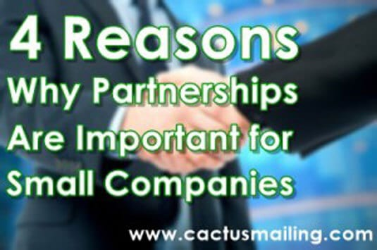 4 reasons why partnerships are important for small companies 300x199 1