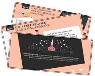 Successful church postcard marketing
