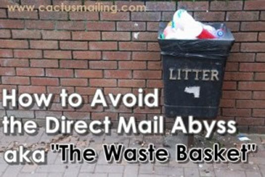 how to avoid the direct mail abyss aka the waste basket 300x200 1