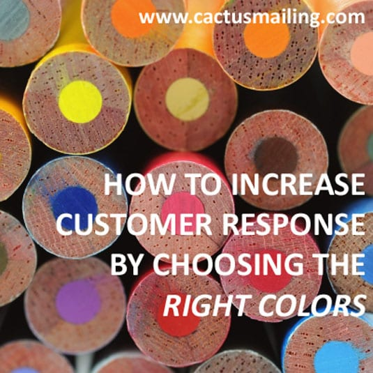 how to increase customer response by choosing the right colors