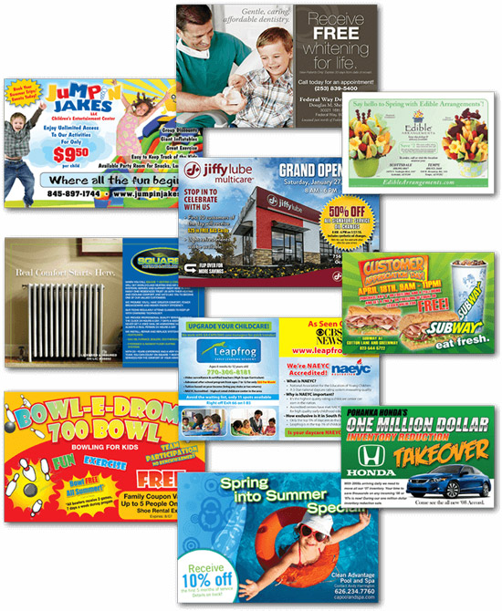direct mail and postcard marketing