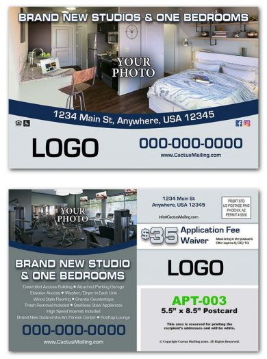 New Apartment Complex Postcards