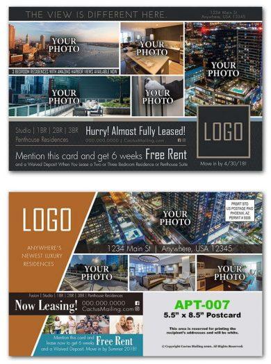 New Luxury Apartment Complex Postcards