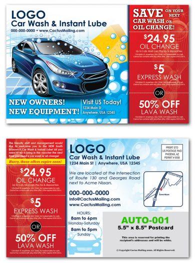 Automotive Postcards