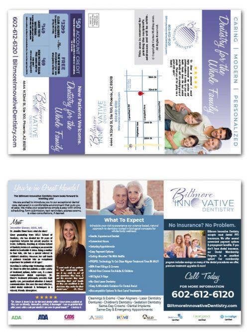Dental Brochure Marketing