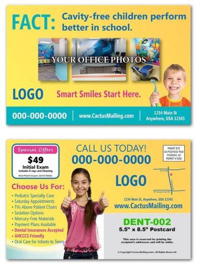 Pediatric Dental Postcards