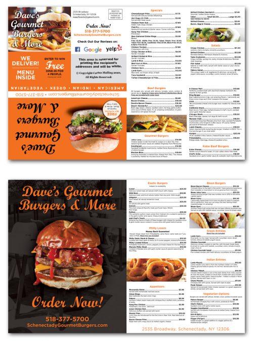 Restaurant Brochure Marketing