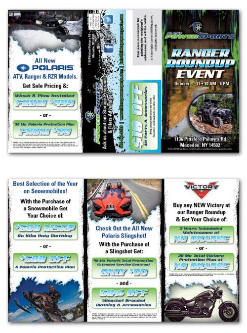 Direct Mail Tri-fold Brochure