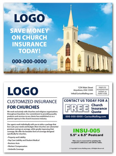 Insurance Postcards