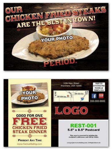 Family Restaurant Postcards