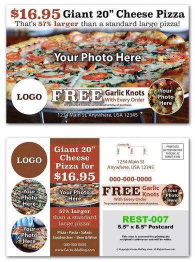 Pizza Shop Postcards