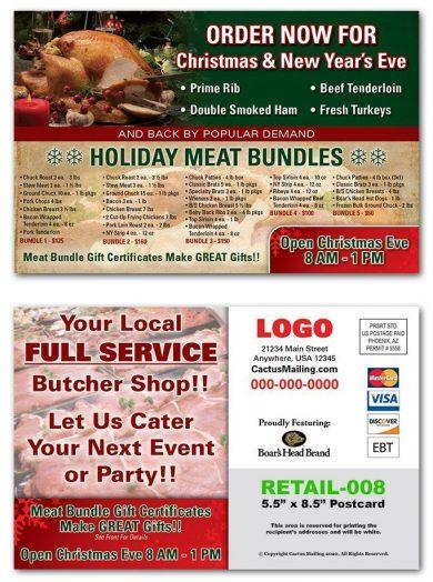 Butcher Shop Postcards