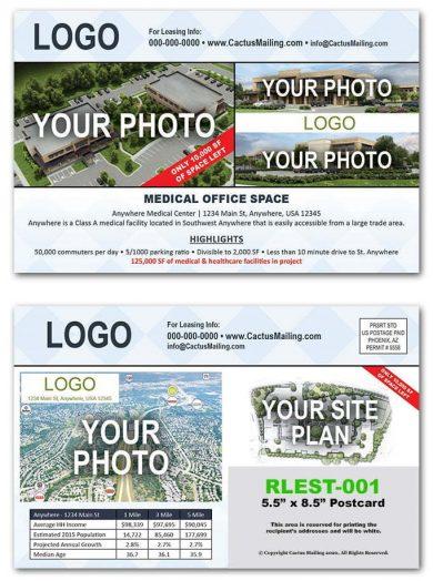 real estate postcards