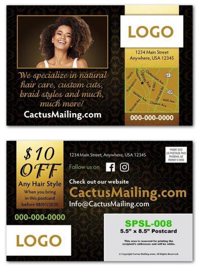 Hair Salon Postcards