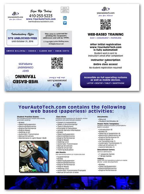 Continuing Education Brochure Marketing